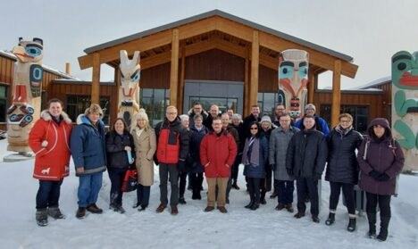 Canadian Superintendents and CEOs Explore Innovation and Indigenized Education in the Yukon