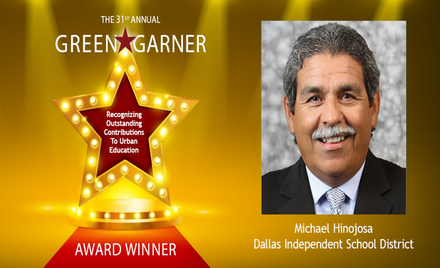 Curriculum Associates Sponsors the Council of the Great City Schools' 2020 Green-Garner Award Recognizing Outstanding Leadership in Urban Education