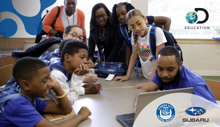 New Jersey's Camden City School District & Discovery Education Launch New PK-12 Partnership Supported by the Subaru of America Foundation