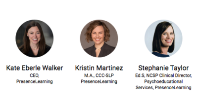 Special Presentation for School Districts: Learn about Leading Teletherapy and Tele-assessment Platform and Training Programs