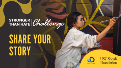 Social & Emotional Learning Challenge from Discovery Education & USC Shoah Foundation Offers Students Opportunity to Win $10,000