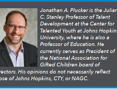 Jonathan Plucker: The State of States in Gifted Education