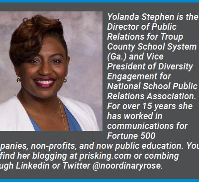 Yolanda Stephen: Time to Toss the Manual