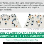 Learn How to Transform Learning Spaces Using COVID-19 Relief Funds