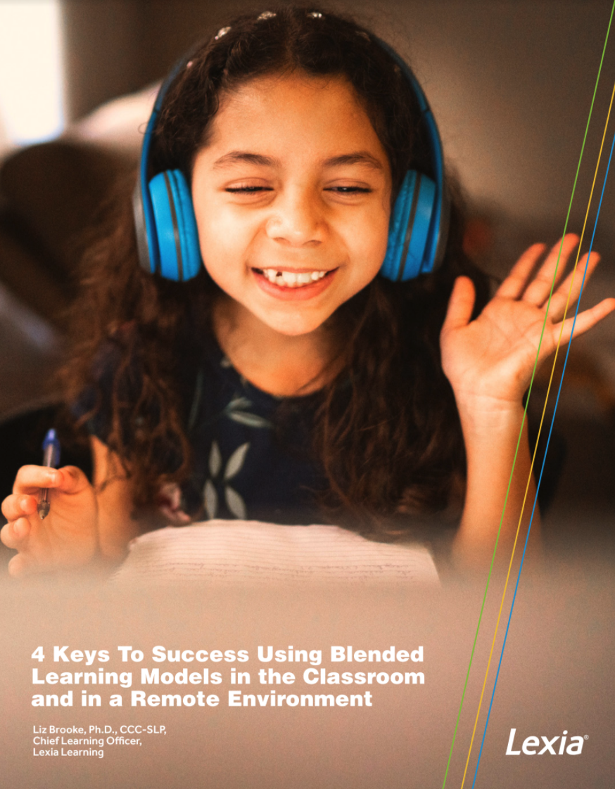 New Lexia White Paper Gives Insight on Blended and Remote Learning Success