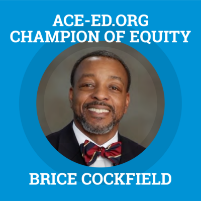 Brice Cockfield, Champion of Equity