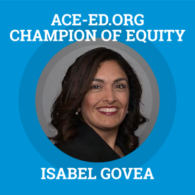 Isabel Govea, Champion of Equity