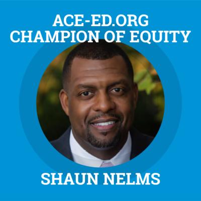 Shaun Nelms, Champion of Equity